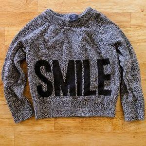 3t babyGap SMILE sweater